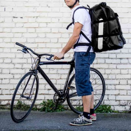 Livreur à vélo pour Deliveroo ou Uber Eats
